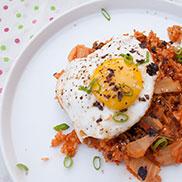 Kimchi Fried Rice - Kimchi-Bokkeumbap