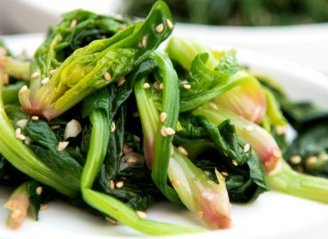 Korean Spinash Side Dish