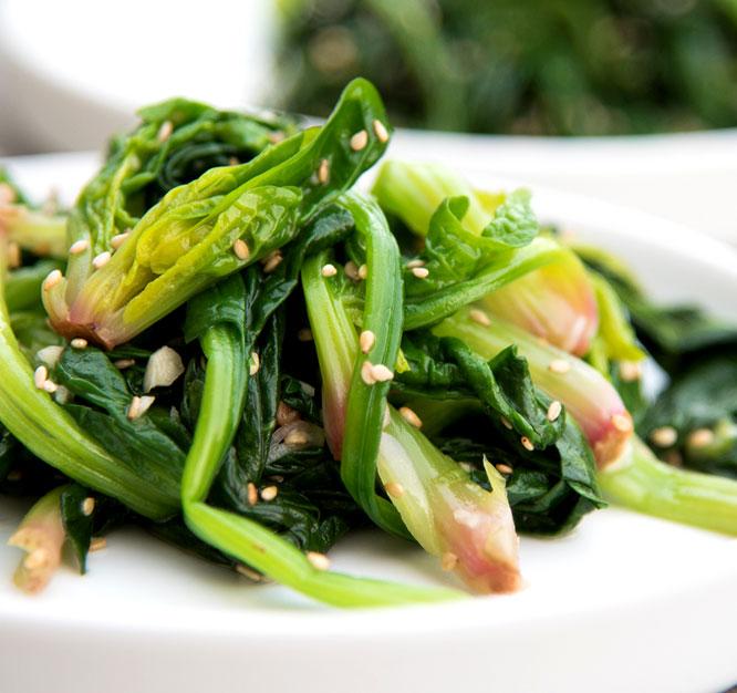 Korean Spinash Side Dish