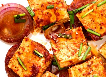 Tofu Recipes – Korean Fluffy Braised Tofu