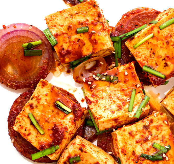 Tofu Recipes – Korean Fluffy Braised Tofu