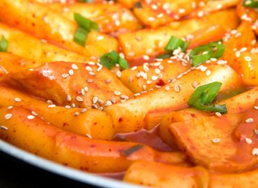 Korean food – Spicy Rice Cake