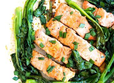 Tamari Glazed Easy Salmon Recipes