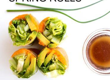 Spring Rolls Recipe with Masago