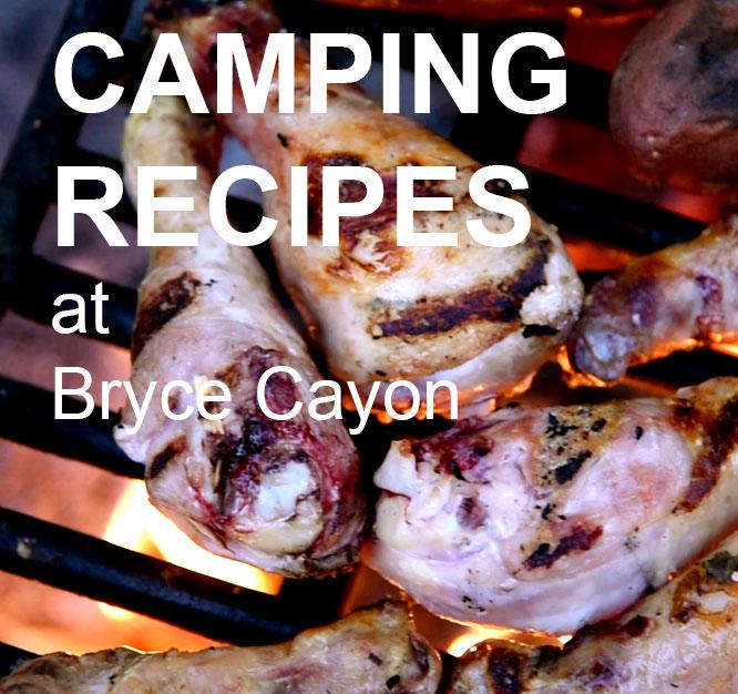 Camping Recipes at Bryce Canyon