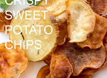 Sweet potato chips-Crispy Korean sweet potato chips