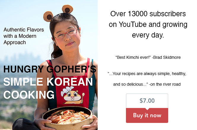 Korean Cooking Book