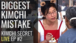 kimchi mistake